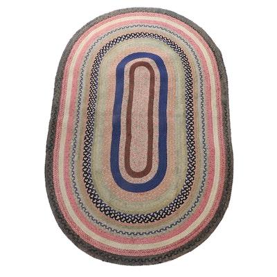 Braided Oval Area Rug