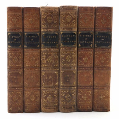 "First Edition ""The History of Scotland"" by James Aiken and John Struthers, 1820s"