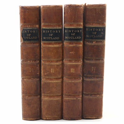 "Complete First Edition Set ""The History of Scotland"" by James Aikman, 1827"
