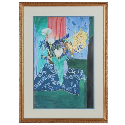 """Still Life Offset Lithograph after Henri Matisse """"Tanger"""", Late 20th Century"""