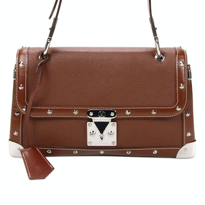 Louis Vuitton Le Talentueux Shoulder Bag in Sienne Suhali Leather