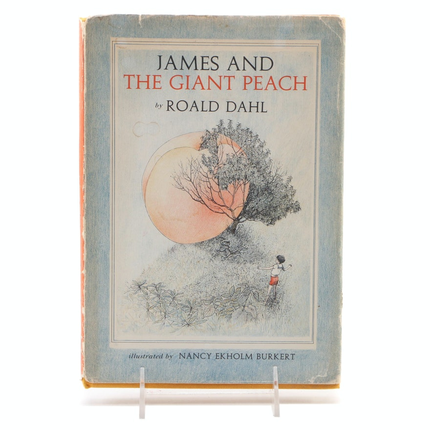 "First Edition, Second State ""James and the Giant Peach"" by Roald Dahl, 1961"