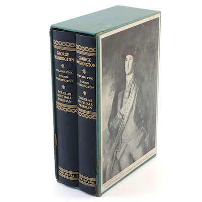 "First Edition ""George Washington: A Biography"" by Douglas S. Freeman, 1948"