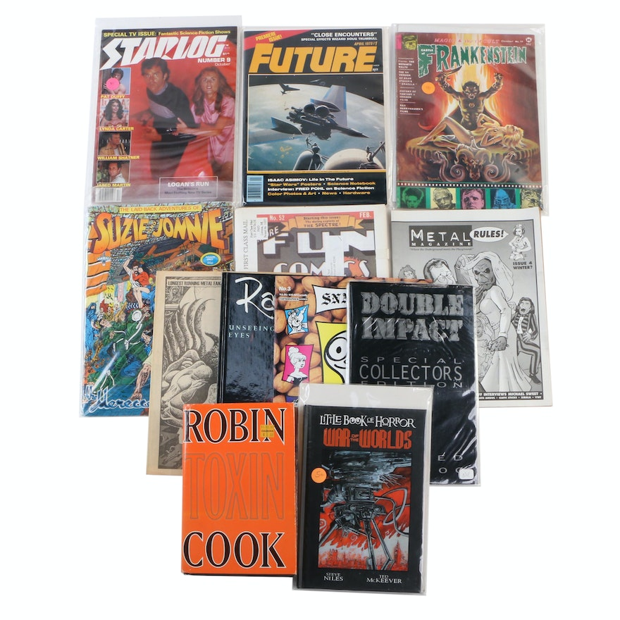 The Laid-Back Adventures of Suzie & Jonnie, Frankenstein, Other Books and Comics