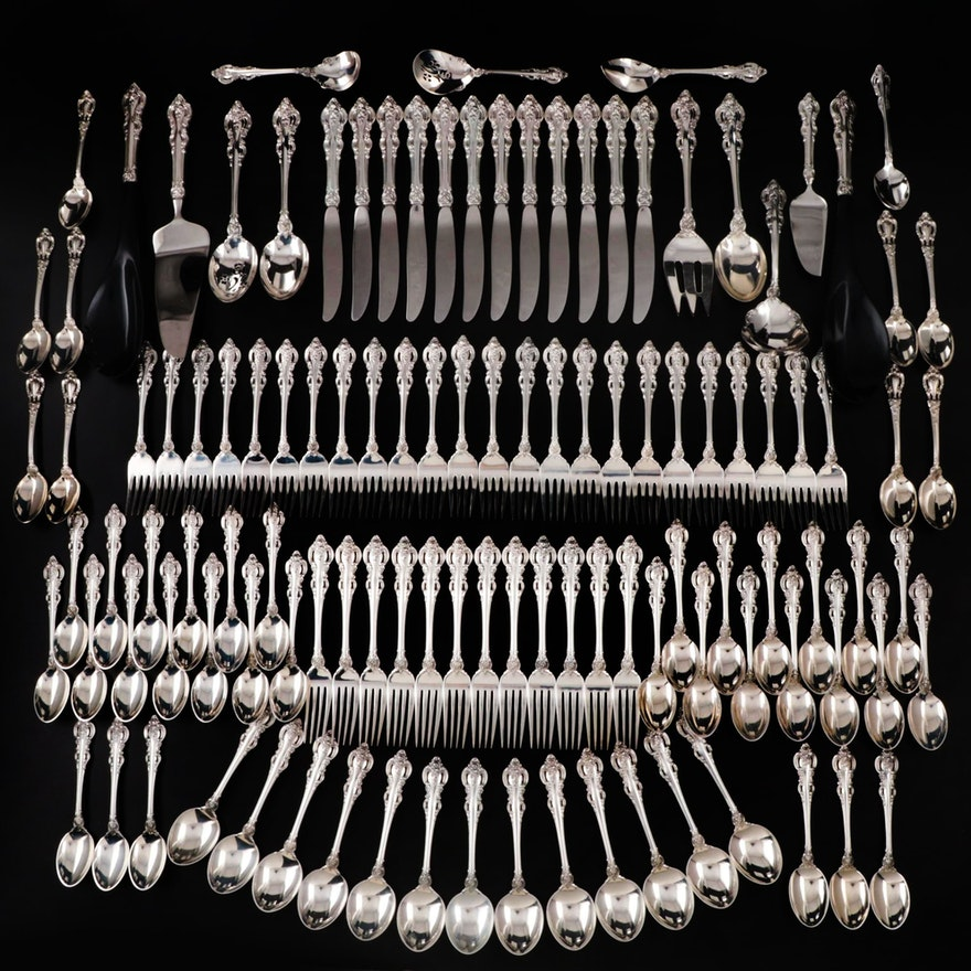 "Towle ""El Grandee"" Sterling Silver Flatware, Mid to Late 20th Century"