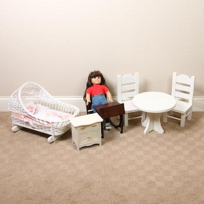 American Girl Doll, Samantha Parkington Desk and  Other Furniture