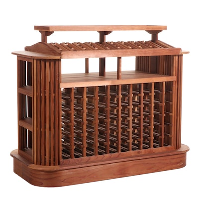 Redwood Wine Storage Unit, 21st Century