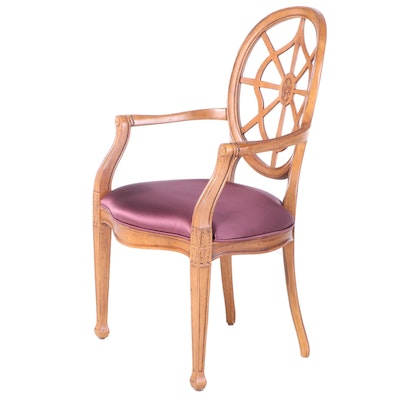 Century Furniture George III Style Beech Armchair