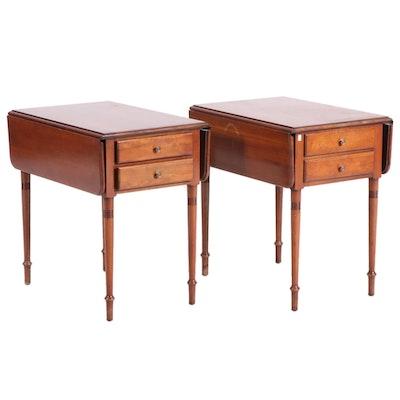 Pennsylvania House Furniture Drop-Leaf Side Tables