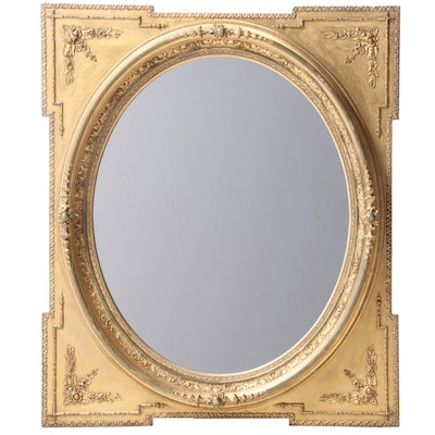 Giltwood and Composition Mirror, 19th Century