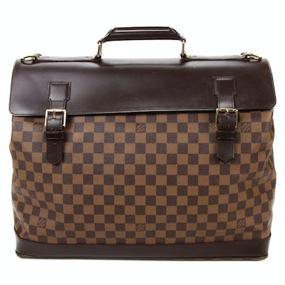 Louis Vuitton West End PM Damier Coated Canvas and Leather Travel Bag