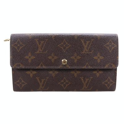 Louis Vuitton Porte Trésor International Wallet in Monogram Canvas