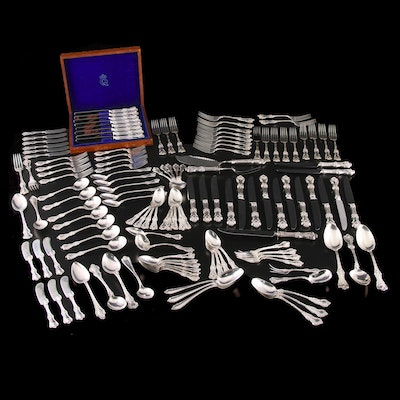 "Frank Smith Sterling Silver ""Federal Cotillion"" and Other Sterling Flatware"