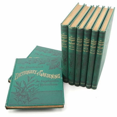 "Complete ""The Illustrated Dictionary of Gardening"" Edited by George Nicholson"