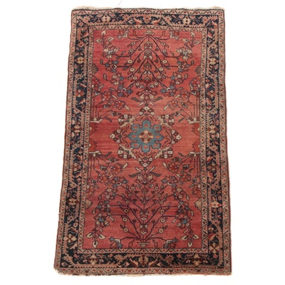 2'6 x 4'10 Hand-Knotted Persian Lilihan Wool Rug