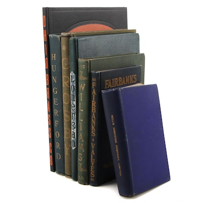 Hardback Industrial and Mechanical Catalogs, 1898–1937