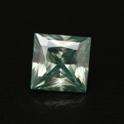 Loose Square Faceted Moissanite