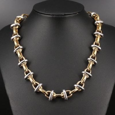 Modital Cable Chain Necklace
