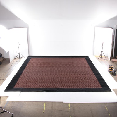 17'0 x 19'11 Machine Made Van Besouw Room Sized Rug