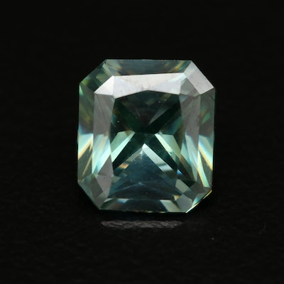 Loose Lab Grown Square Faceted Moissanite