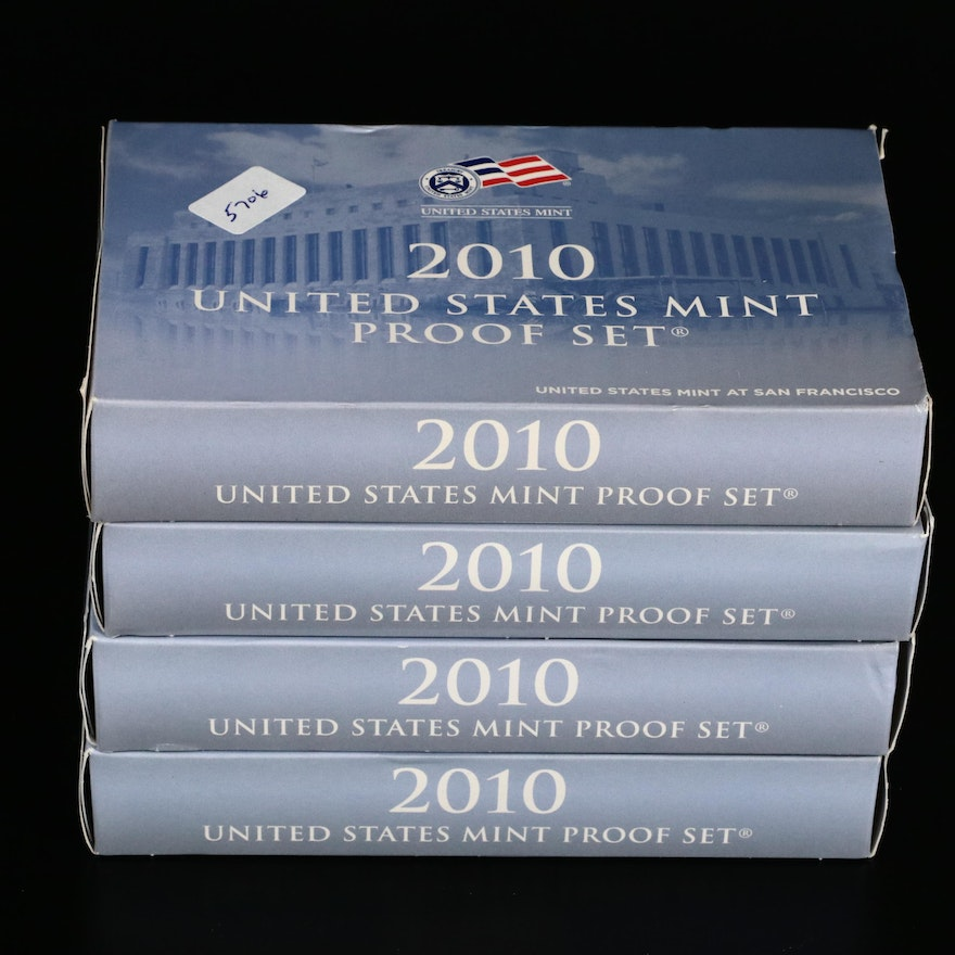 US Mint Proof Coin Sets, 2010