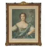 William Penhallow Henderson Portrait Mezzotint, Early 20th Century