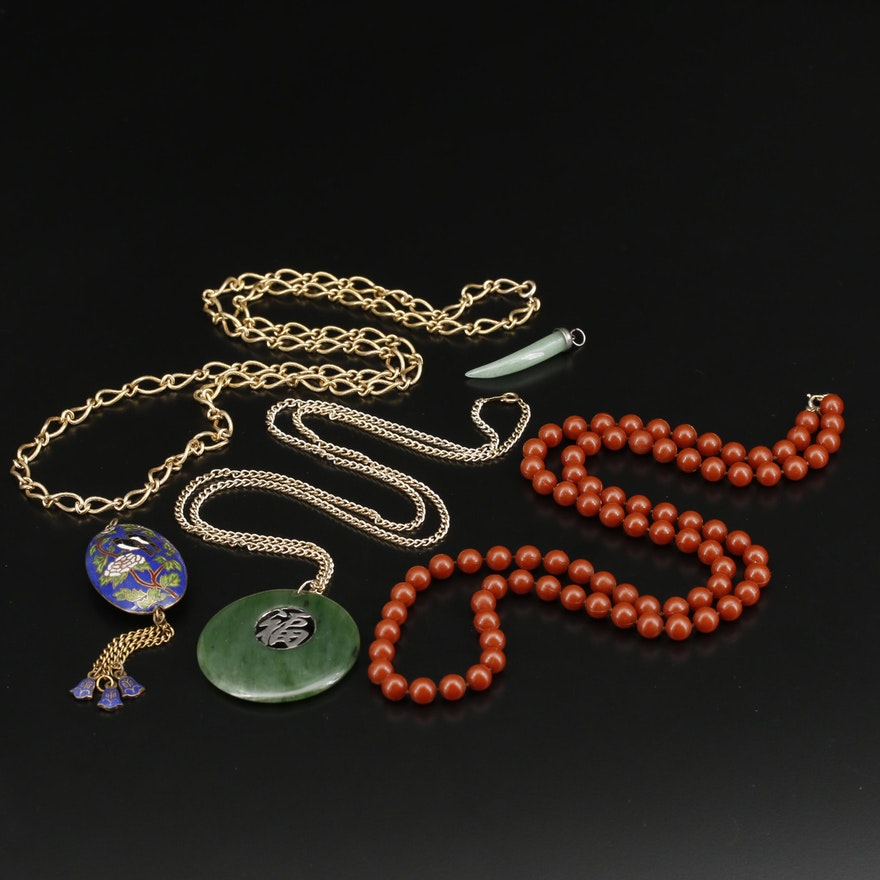 Necklaces and Pendant Including Vintage Gold Filled Necklace