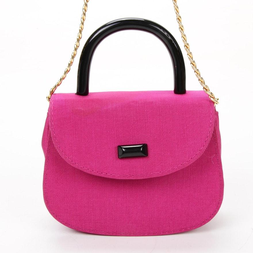 Henri Bendel Mini Flap Front Bag with Chain Strap