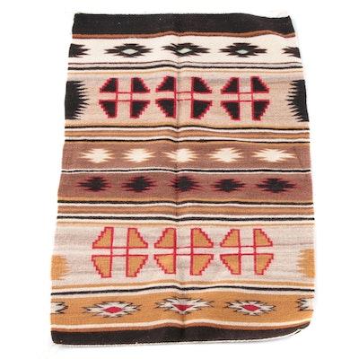 3'0 x 4'6 Handwoven Southwest Style Wool Rug