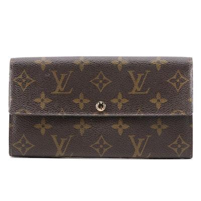 Louis Vuitton Pochette Porte-Monnaie Crédit NM in Monogram Canvas
