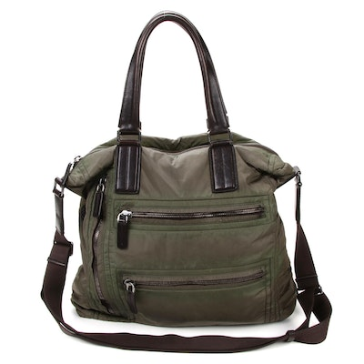 Tod's Messenger Bag in Nylon and Leather