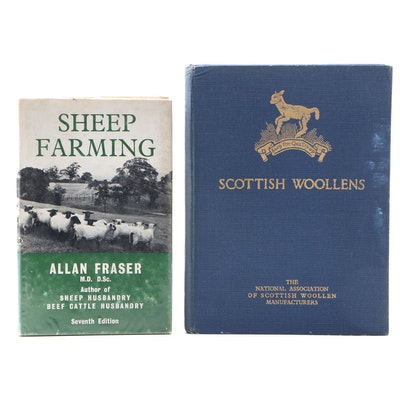 "First Edition ""Scottish Woolens"" with Later Edition ""Sheep Farming"""