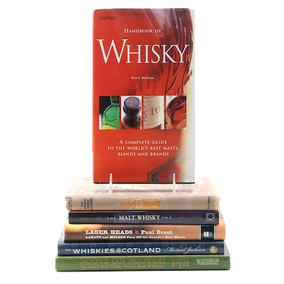 "First Edition ""Handbook of Whisky"" by Dave Broom with More Scotch Whiskey Books"