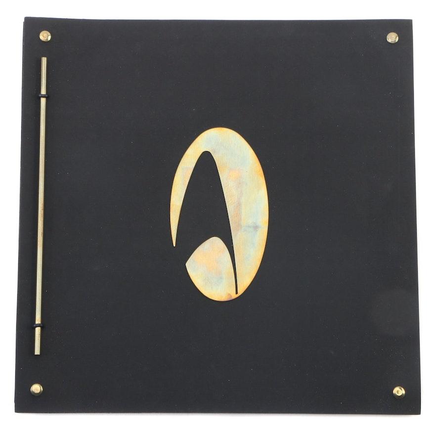 "Star Trek: The Next Generation ""Journey's End"" Press Release Book"