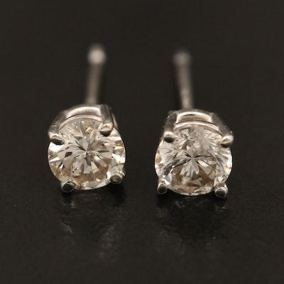 14K 0.54 CTW Diamond Stud Earrings