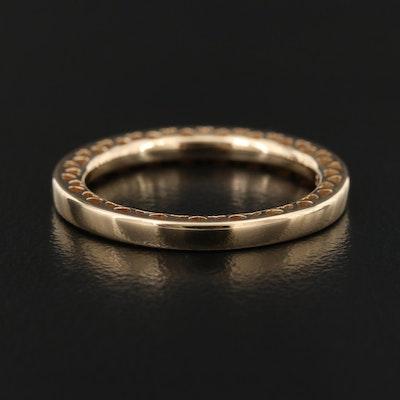 Pandora 14K Heart Stacking Ring
