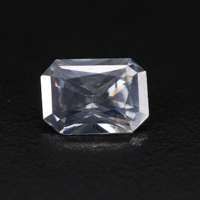 Loose Lab Grown Rectangular Moissanite