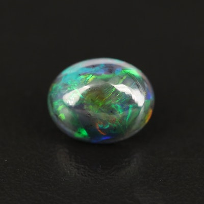Loose 1.62 CT Oval Cabochon Opal