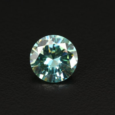 Loose Lab Grown Round Faceted Moissanite