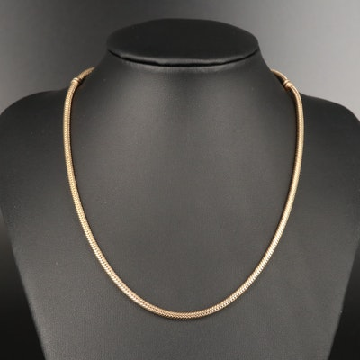 Pandora 14K Snake Chain Necklace