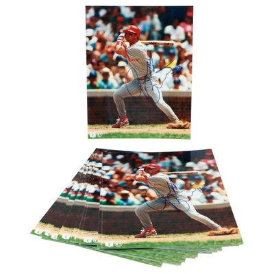 Jeff Branson Signed Cincinnati Reds Photo Prints