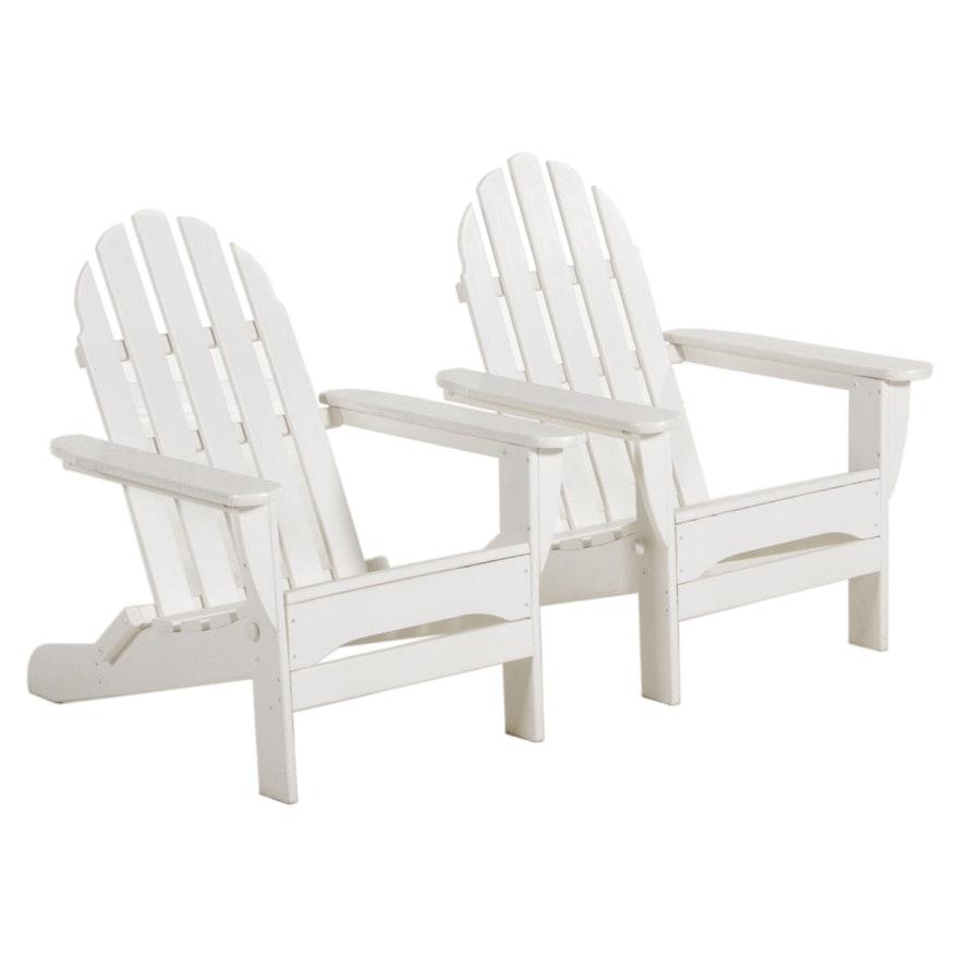 Polywood White Adirondack Chairs