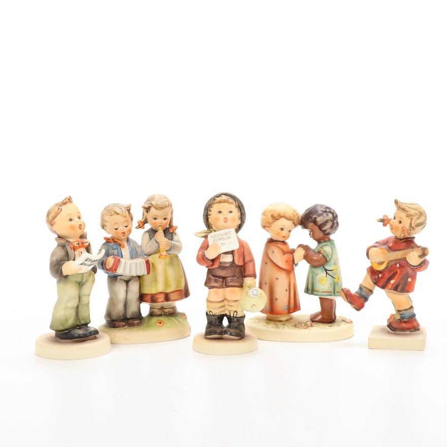 """Goebel """"Friends Together"""" Unicef Edition and Other Porcelain Hummel Figurines"""