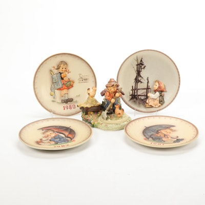 """Goebel """"Little Farm Hand"""" Limited Edition, Hummelscape, and Collector Plates"""