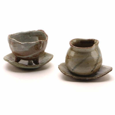 Art Pottery Ceramic Serving Set