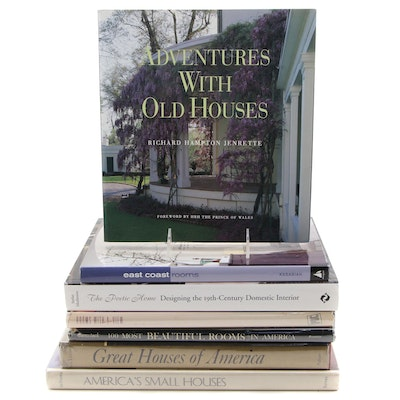 "Architecture and Interior Design Books Featuring ""The Poetic Home"" by Muthesius"