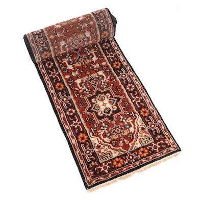 2'6 x 20'0 Hand-Knotted Indo-Persian Heriz Stairway Runner Rug