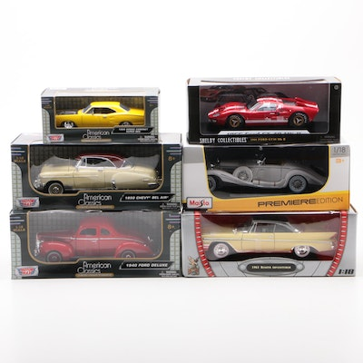 Shelby Collectibles 1966 Ford GT-40 MKII, Mercedes-Benz, Other Model Cars