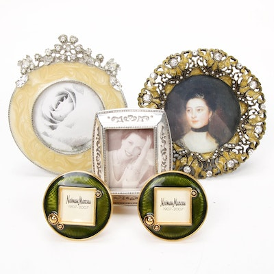 Jay Strongwater and Other Enameled and Embellished Photo Frames