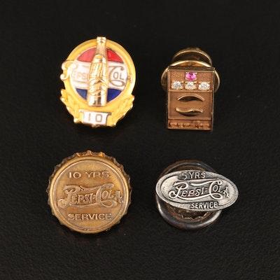 Pepsi Co. Service Award Pins